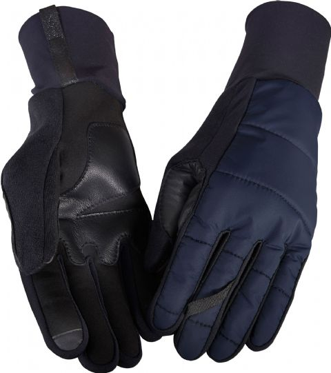 Café Du Cycliste Mid Season Gloves Unisex - Navy